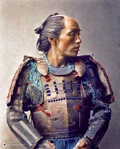 A Samurai, (1881)