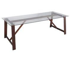 Mesa de madera de teca tanzania leroy merlin muebles for Table extensible glasgow