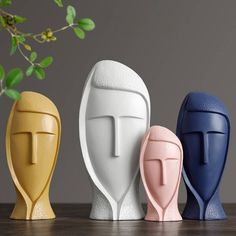 Material: Resin Theme: people Regional Feature: Europe Packaging Details Unit Type: piece Package Weight: Package Size: x x . - Home Decor trends idea 2020 Resin Sculpture, Modern Sculpture, Buy Resin, Cerámica Ideas, Elephant Figurines, Girl Decor, 3d Prints, Art Moderne, Ceramic Vase