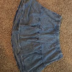 Cute and comfy skirt Blue comfy skirt! Rubbish Skirts Midi