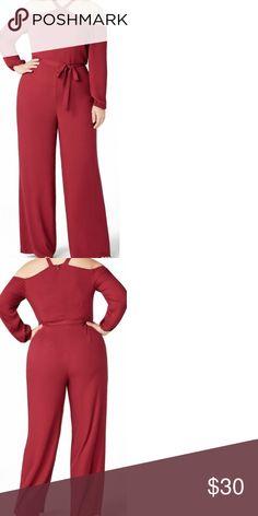 6f8a961546 Plus Size Cold Shoulder Jumpsuit 💋 NWT