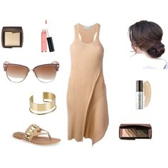 One of Those Days by gloryleigh on Polyvore featuring STELLA McCARTNEY, Sole Society, By Malene Birger, Tom Ford, Hourglass Cosmetics and Laura Geller