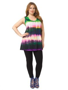 Painted Ombre Tank Tunic