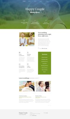 Website Theme , Happy Couple