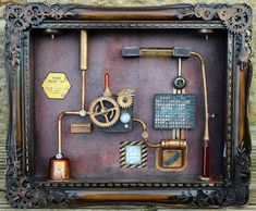 SanDee & amelie's Steampunk Challenges: February Winners and Top 5 - romina February Challenge, Monthly Challenge, Steampunk Mask, Steampunk Fashion, Cameo Machine, Little Alchemy, Polymer Clay Steampunk, Cute Office Outfits, Teardrop Camping