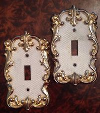 Brass Light Switch Plates Brass Light Switch Plate Vintage Light Switch Cover Made In