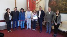 Una delegazione bielorussa ricevuta in Comune