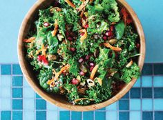 This vibrant, colourful salad is packed with superfood goodness and tastes delicious! Serve on the table at a summer family barbeque - it won't disappoint! Healthy Salad Recipes, Clean Recipes, Healthy Food, Superfood Salad, Healthy Sides, Easy Salads, Side Dish Recipes, Side Dishes, Food Inspiration