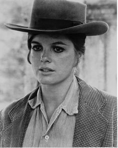 Katharine Ross as Etta Place in Butch Cassidy and the Sundance Kid