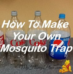How To Make Your Own Mosquito Trap. I try to let the frogs and bats eat all the mosquitos, but sometimes we need to resort to warfare. This sounds like a great solution to spraying toxins all over ourselves and yard. Spoil Yourself, Garden Guide, Weed Control, Small Space Gardening, Make Your Own, How To Make, Garden Pests, Organic Gardening, Good To Know