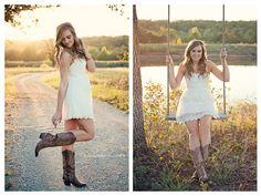 Tulsa Senior Photographer  www.annbennettphoto.com #natural #creative #unique #senior #senior pictures #boots