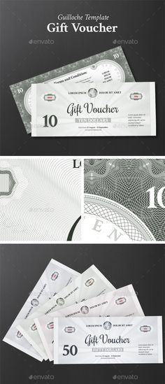 Gift Voucher - PSD Template • Only available here ➝ http://graphicriver.net/item/gift-voucher/13538227?ref=pxcr
