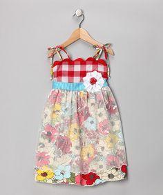 Red Strawberry Pie Twirl Dress - Twirls & Twigs
