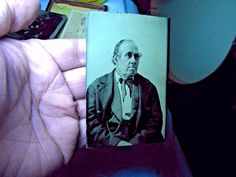 1/6 Plate Tintype - Flying Eyebrow Man | eBay