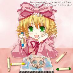 rozen maiden doll | Rozen Maiden Hina Ichigo drawing Jun :3