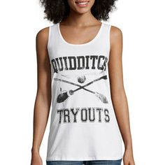 Quidditch Tryouts Racerback Tank Top