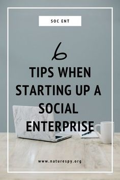 6 tips for starting up a social enterprise After 5 years of being a social enterprise we look back a Enterprise Business, Social Enterprise, Business Advice, Business Coaching, Social Business, Green Marketing, Volunteer Management, Social Projects, Business Ethics