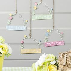 Happy Easter Mini Sign - easter home