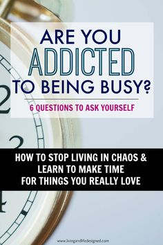 Is your life chaotic & super busy? Do you ever feel like you never stop going, going, going? Activities, sports, meetings, events every night? Are you over scheduling because you have to or want to? Take back your free time, learn how to stop over scheduling and overcommitting. Make time for things you LOVE, not things you are obligated to do!