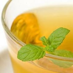 1 cup of peppermint or spearmint tea, some honey and a shot of rum or tsp of apple cider vinegar (anti-inflammatory), and a tsp of cinnamon, (helps fight viruses and bacteria)