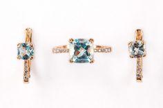 Топаз камень украшения серьги кольцо