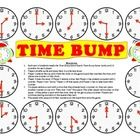 Time Bump - A Game to Practice Telling Time to the Nearest Hour and Half Hour Counting Money Games, Time To The Hour, Telling Time, 21 Day Fix, Math Centers, Bump, Card Games, Rid, Daniel Fast