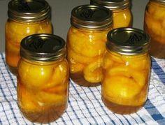 Conservarea fructelor in suc propriu