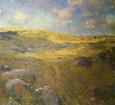 The Athenaeum - Landscape in Pennsylvania (William Langson Lathrop - )