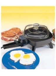 Mini Electric Frying Pan from Carol Wright Gifts on Catalog Spree, my personal digital mall.