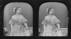 Queen Victoria in 1840 at age 21. This may be the earliest photograph ever taken of her. It is unknown if this is a daguerreotype or a calotype.