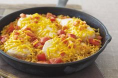 Miracle Chicken Skillet recipe-      photo by:   kraft                           This flavorful all-in-one dish comes to life with a secret ingredient - Miracle Whip! #ChickenRecipes