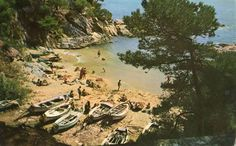 Playa de Castillo de Aro, Gerona, en 1972