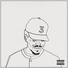 coloring book lyrics chance the rapper pencil drawing on behance chanceee is