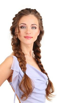 Double Side Braid Hairstyle #hairstyles