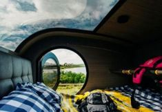 Explore Iceland with a teardrop trailer and fall asleep with a view of the northern lights