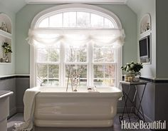 Absolutely love this bathtub.  Unique design.