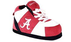 b56f5270fec9c NCAA Alabama Crimson Tide Adult Comfy Feet Sneaker Slippers - Crimson White  L Color  Multicolored. NCAA Alabama Crimson Tide Adult Comfy Feet Sneaker  ...