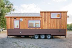 Tiny House Builders, Tiny House Plans, Tiny House On Wheels, Tiny House Design, Tiny Cabins, Cabins And Cottages, Tiny Houses For Sale, Little Houses, Small Houses