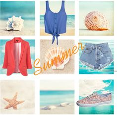 """Back to Summer"" by munkicmunkishop on Polyvore"