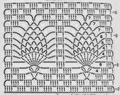 World crochet: Pattern 1