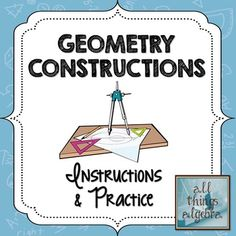 Mr Collins Mathematics Blog: Constructions resources using 'Comic ...