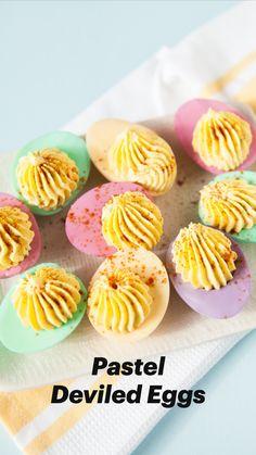 Easter Appetizers, Easter Dinner Recipes, Easter Brunch, Yummy Appetizers, Appetizer Recipes, Holiday Recipes, Easter Food, Easter Desserts, Easter Treats