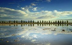 Delta de l'Ebre Clouds, Mountains, Places, Nature, Photography, Travel, Outdoor, Mirrors, Scenery
