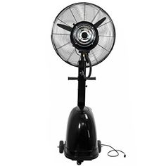 """High Power Misting Fan Metal 26"""" Cooling Warehouse Indoor Outdoor w 7 Gal Tank > Heavy Duty Construction Large 26"""" Fan Head with 3-Speed Adjustable Mist Up to 7 Gallon Water Tank Check more at http://farmgardensuperstore.com/product/high-power-misting-fan-metal-26-cooling-warehouse-indoor-outdoor-w-7-gal-tank/"""