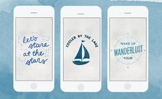 Download our FREE Wanderlust phone + desktop background! | west elm