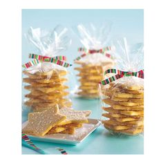 Homemade Christmas Food Gifts - Ideas for Food Gifts for Christmas - Delish.com    Or use almond shortbread.