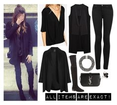 """""""♆ Eleanor with Max at Victoria and Albert Museum ♆"""" by eleanorjcalder-style ❤ liked on Polyvore featuring Calder, ASOS, Topshop, Zara, Stuart Weitzman, Yves Saint Laurent and Agnona"""