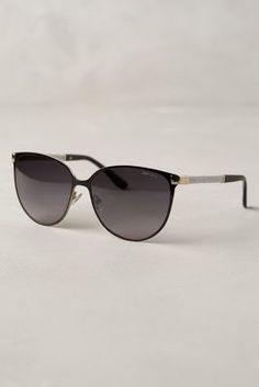 Jimmy Choo Posie Sunglasses Brown One Size Eyewear