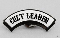 "Lazy Oaf ""Cult Leader"" Pin"