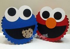 Cookie Monster and Elmo
